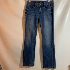 White House Black Market Noir Jeans pants 6R